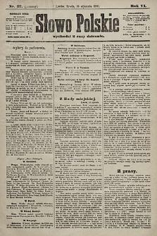 Słowo Polskie. 1901, nr27 (poranny)