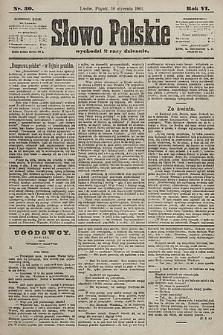 Słowo Polskie. 1901, nr30