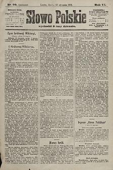 Słowo Polskie. 1901, nr39 (poranny)