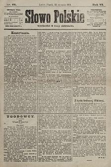 Słowo Polskie. 1901, nr42