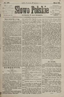 Słowo Polskie. 1901, nr46