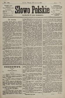Słowo Polskie. 1901, nr48