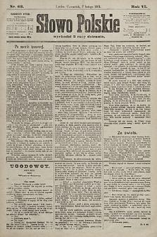 Słowo Polskie. 1901, nr63