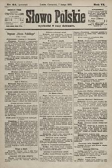 Słowo Polskie. 1901, nr64 (poranny)