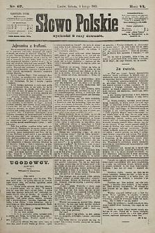 Słowo Polskie. 1901, nr67