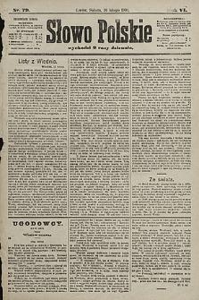 Słowo Polskie. 1901, nr79