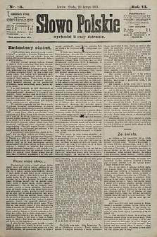 Słowo Polskie. 1901, nr85