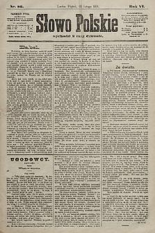 Słowo Polskie. 1901, nr89