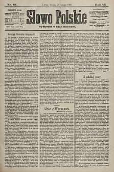 Słowo Polskie. 1901, nr97
