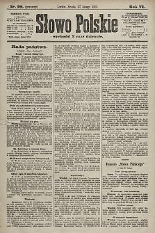 Słowo Polskie. 1901, nr98 (poranny)