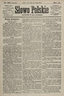 Słowo Polskie. 1901, nr100 (poranny)