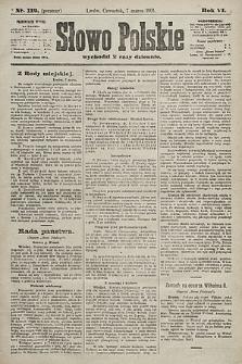Słowo Polskie. 1901, nr112 (poranny)