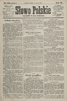 Słowo Polskie. 1901, nr114 (poranny)