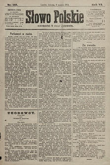 Słowo Polskie. 1901, nr115