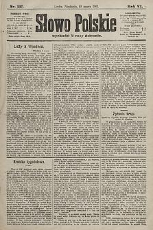 Słowo Polskie. 1901, nr117
