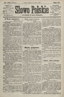 Słowo Polskie. 1901, nr138 (poranny)