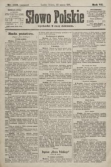Słowo Polskie. 1901, nr140 (poranny)