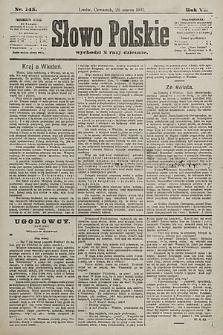 Słowo Polskie. 1901, nr145