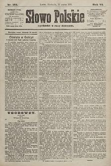 Słowo Polskie. 1901, nr151