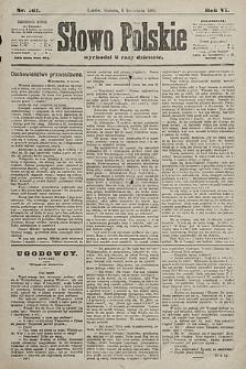 Słowo Polskie. 1901, nr161