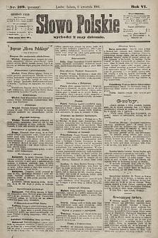 Słowo Polskie. 1901, nr162 (poranny)