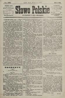 Słowo Polskie. 1901, nr165