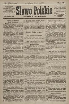 Słowo Polskie. 1901, nr166 (poranny)