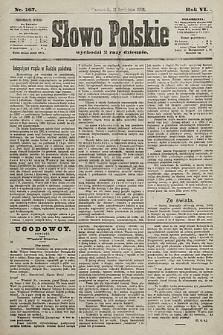 Słowo Polskie. 1901, nr167