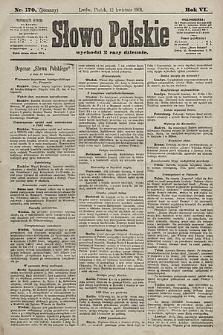 Słowo Polskie. 1901, nr170 (poranny)