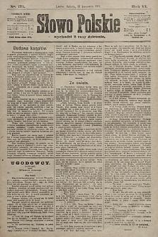 Słowo Polskie. 1901, nr171