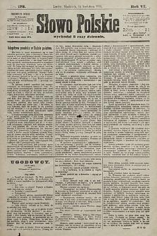 Słowo Polskie. 1901, nr173