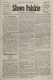 Słowo Polskie. 1901, nr181