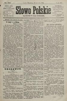 Słowo Polskie. 1901, nr185