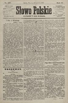 Słowo Polskie. 1901, nr187