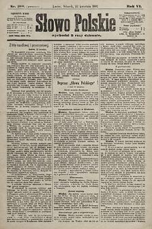 Słowo Polskie. 1901, nr188 (poranny)