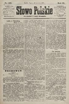 Słowo Polskie. 1901, nr193