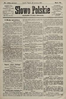 Słowo Polskie. 1901, nr194 (poranny)