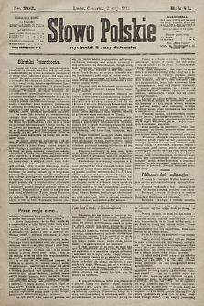 Słowo Polskie. 1901, nr203
