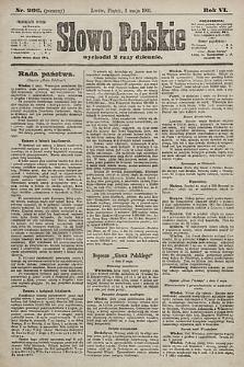 Słowo Polskie. 1901, nr206 (poranny)