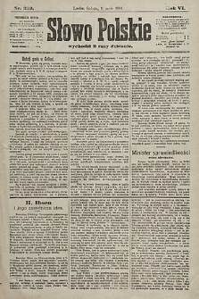 Słowo Polskie. 1901, nr219