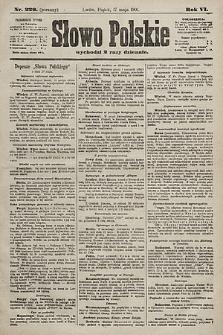 Słowo Polskie. 1901, nr229
