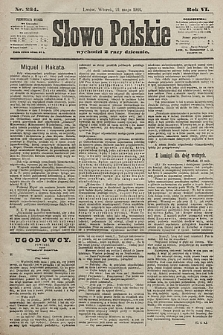 Słowo Polskie. 1901, nr234