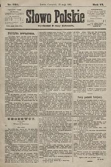 Słowo Polskie. 1901, nr238