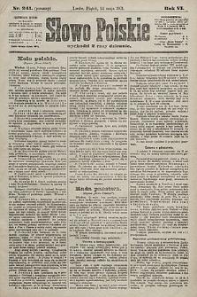 Słowo Polskie. 1901, nr241 (poranny)