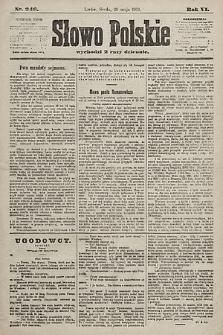 Słowo Polskie. 1901, nr246