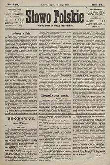 Słowo Polskie. 1901, nr250