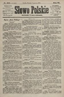 Słowo Polskie. 1901, nr262 (poranny)