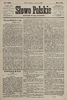Słowo Polskie. 1901, nr263