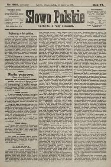Słowo Polskie. 1901, nr266 (poranny)