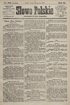 Słowo Polskie. 1901, nr270 (poranny)